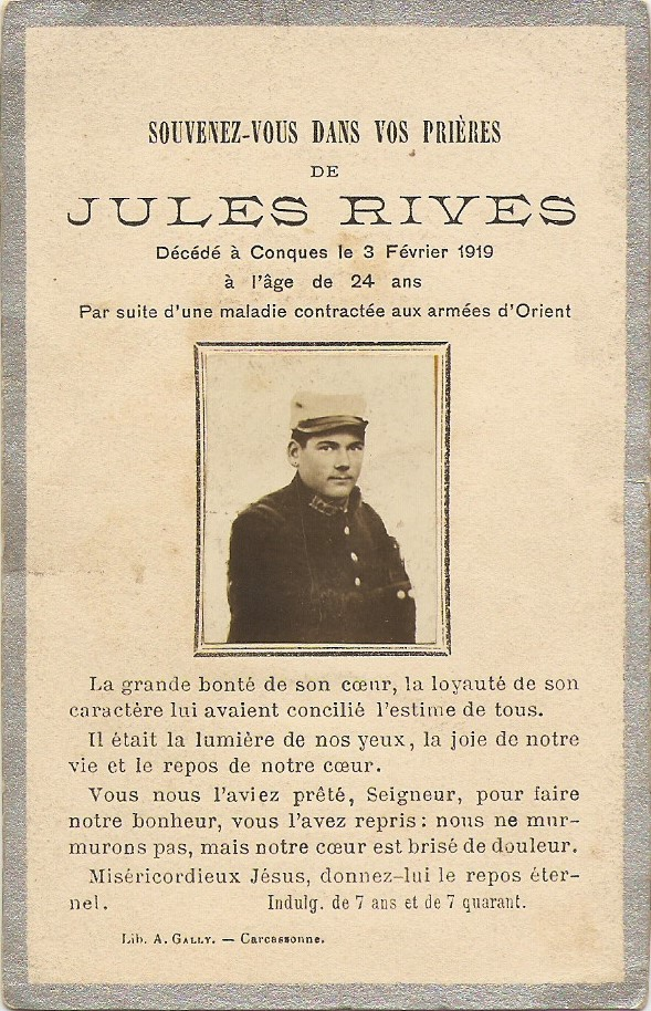 Cartes Mortuaires