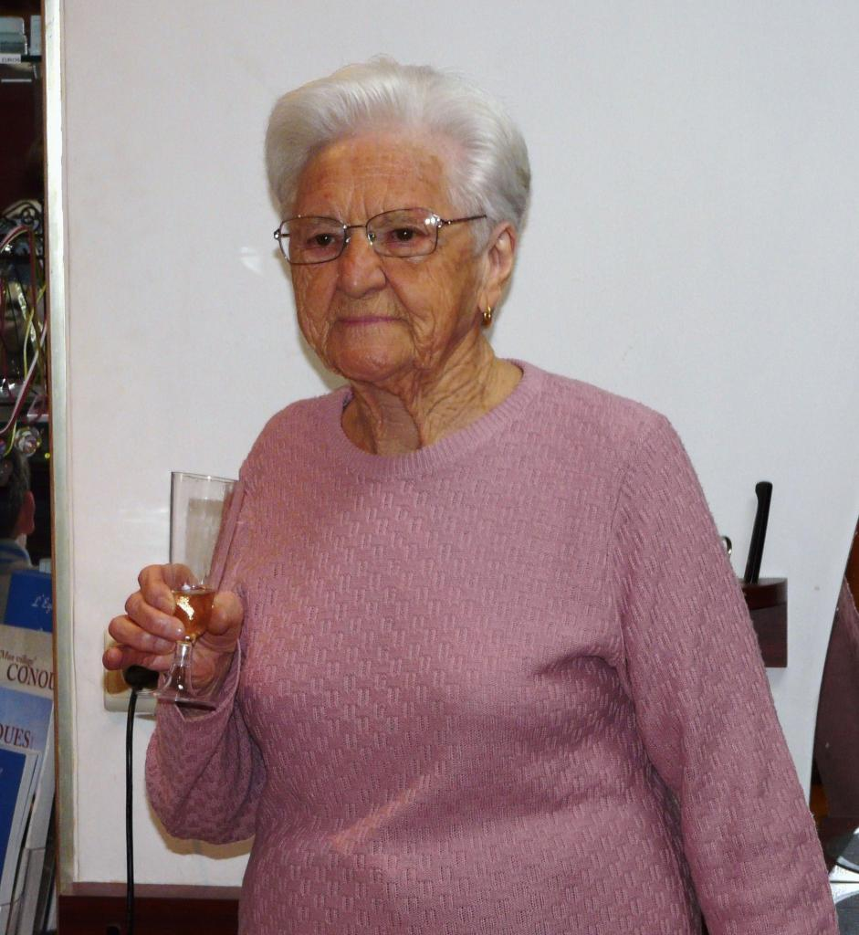 2013...Jeanne Fabre, notre centenaire.